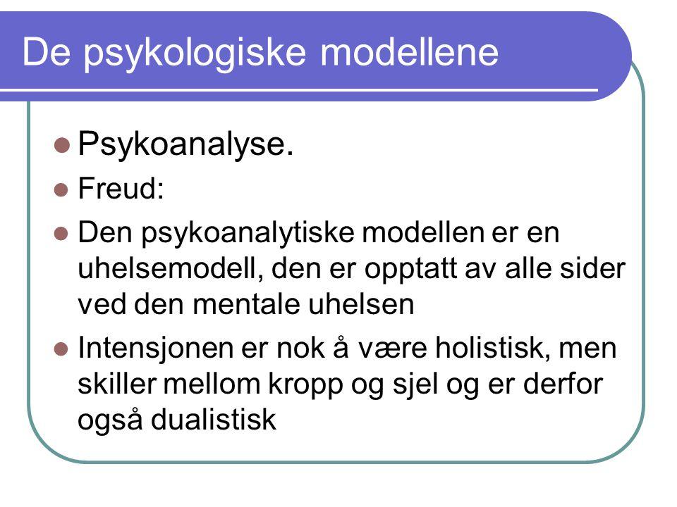 De psykologiske modellene