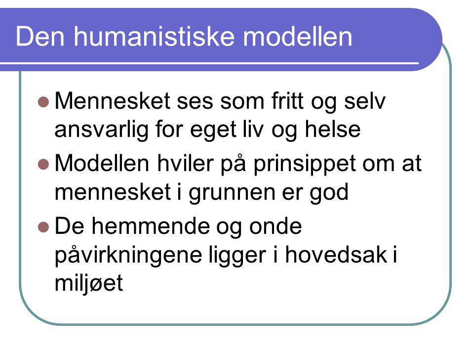 Den humanistiske modellen