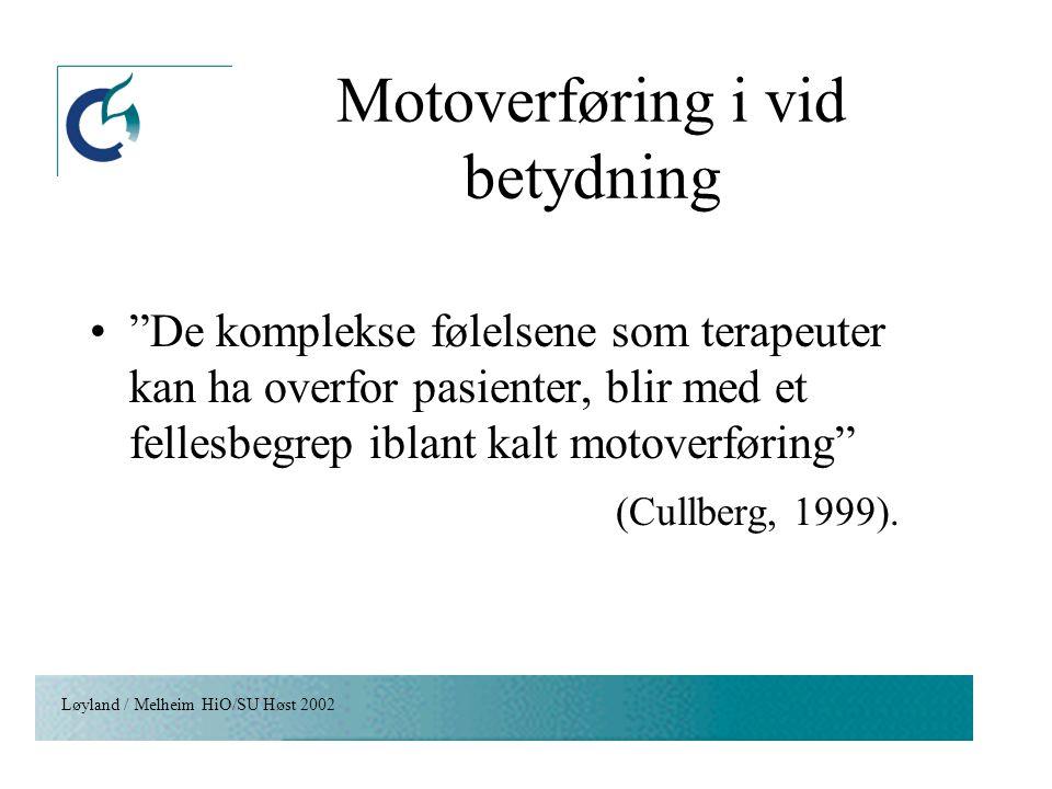 Motoverføring i vid betydning