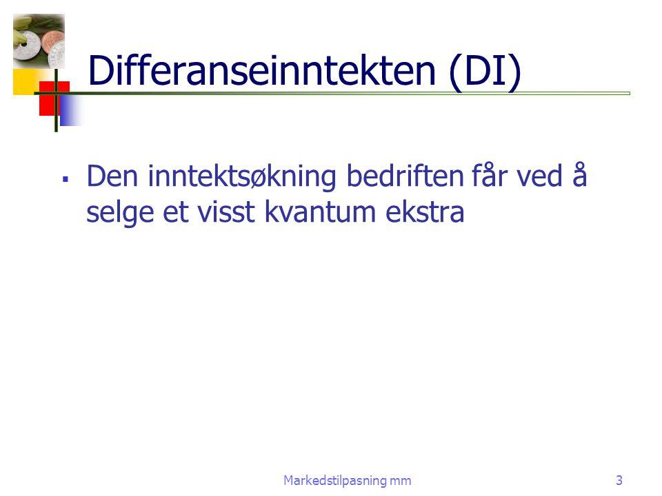 Differanseinntekten (DI)