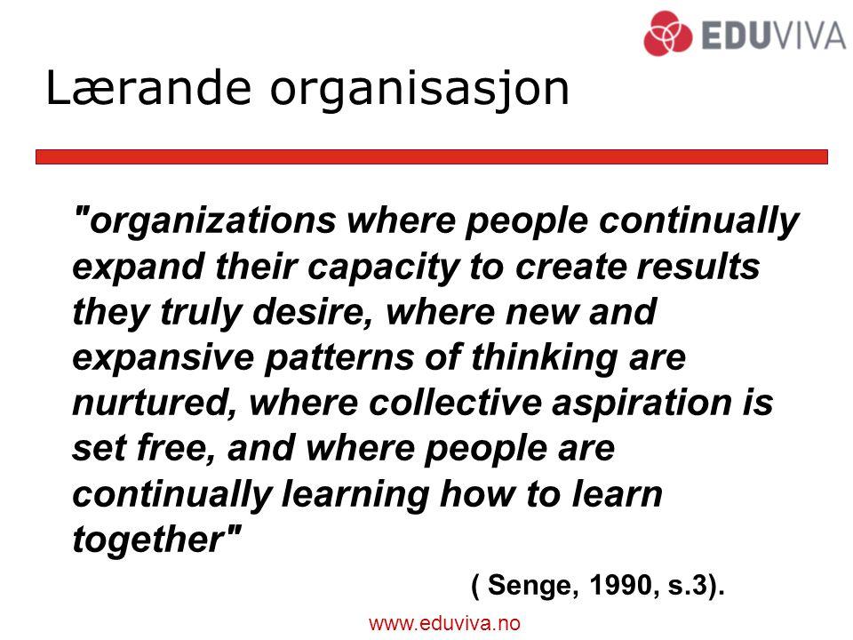 Lærande organisasjon