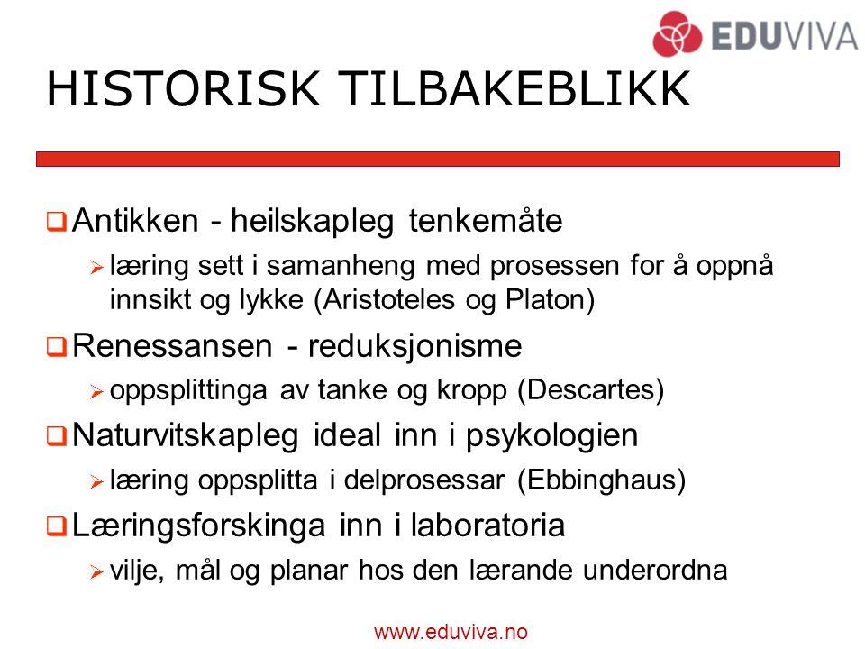 HISTORISK TILBAKEBLIKK