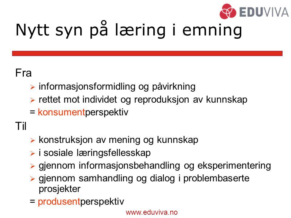 Nytt syn på læring i emning