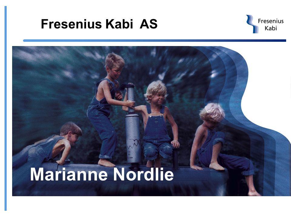 Fresenius Kabi AS Marianne Nordlie