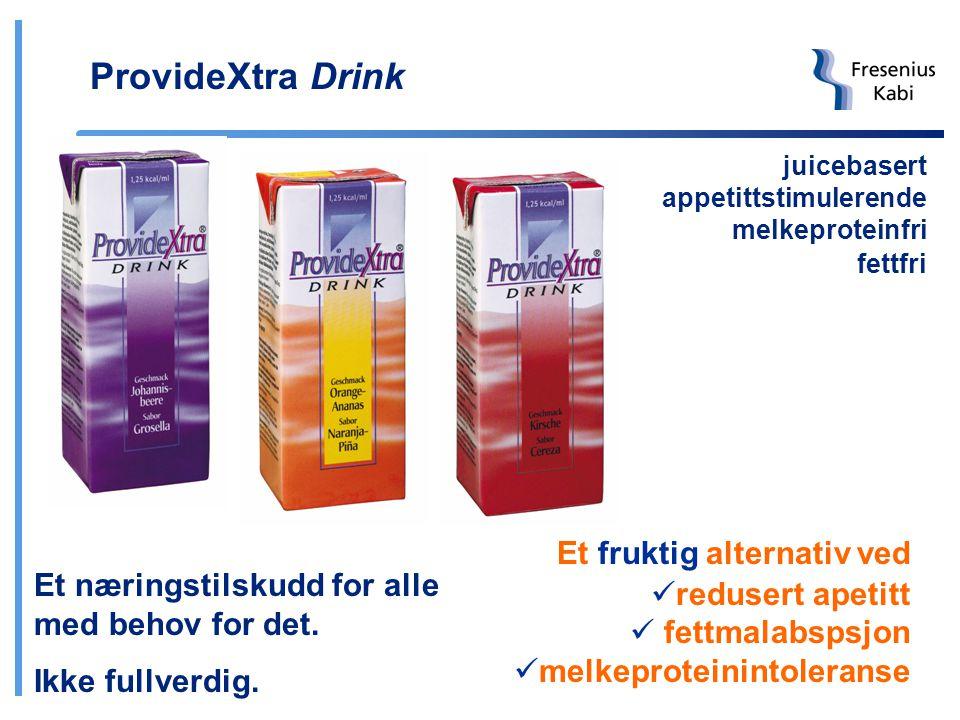 ProvideXtra Drink Et fruktig alternativ ved redusert apetitt