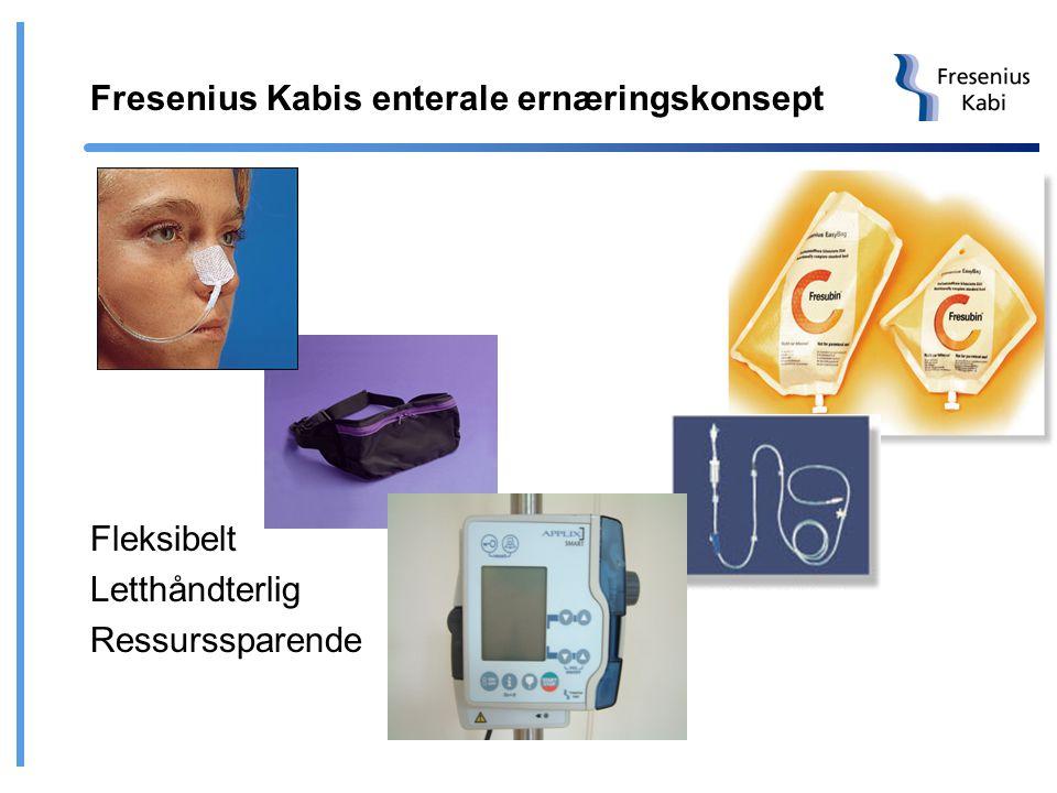Fresenius Kabis enterale ernæringskonsept