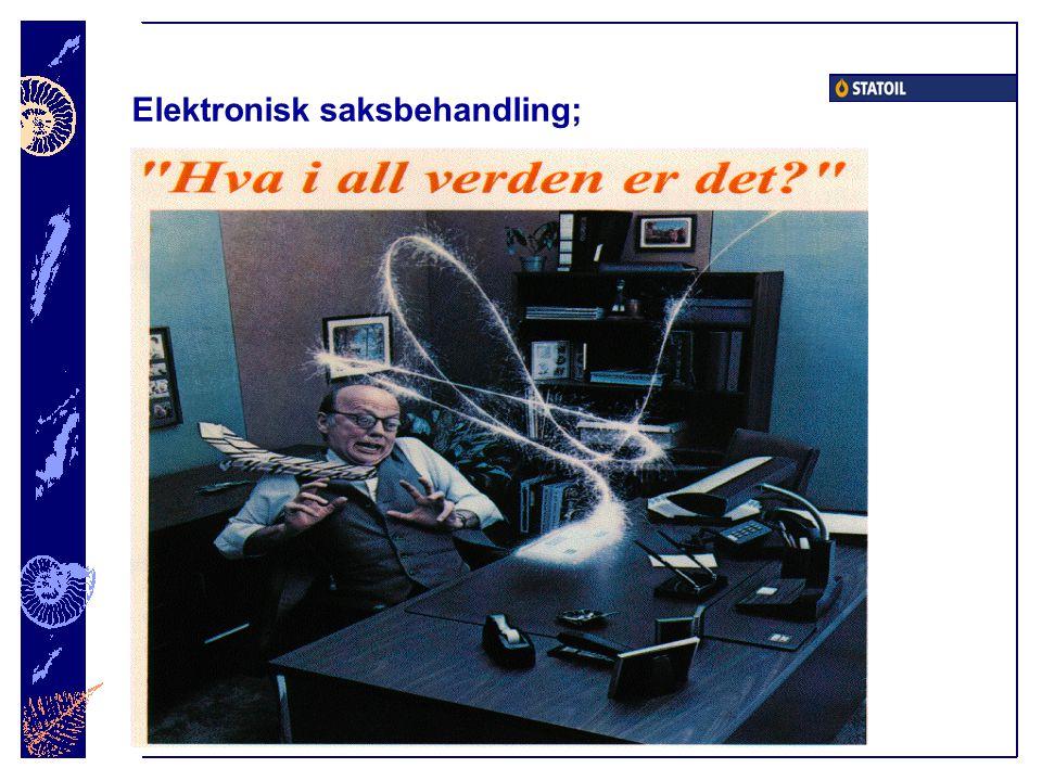Elektronisk saksbehandling;