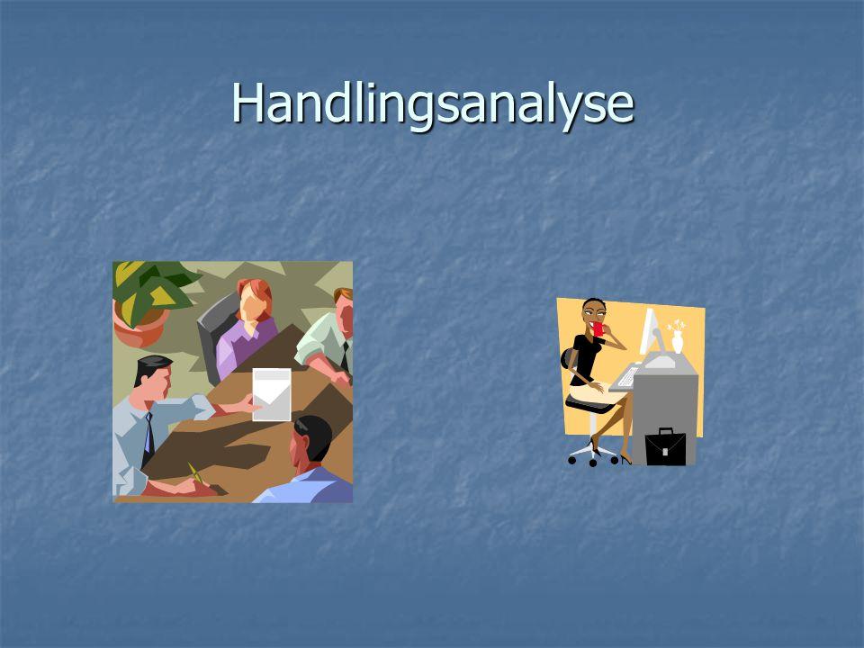 Handlingsanalyse