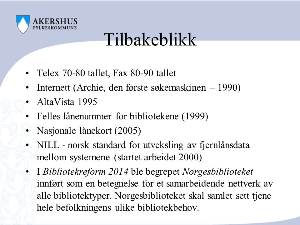 Tilbakeblikk Telex 70-80 tallet, Fax 80-90 tallet