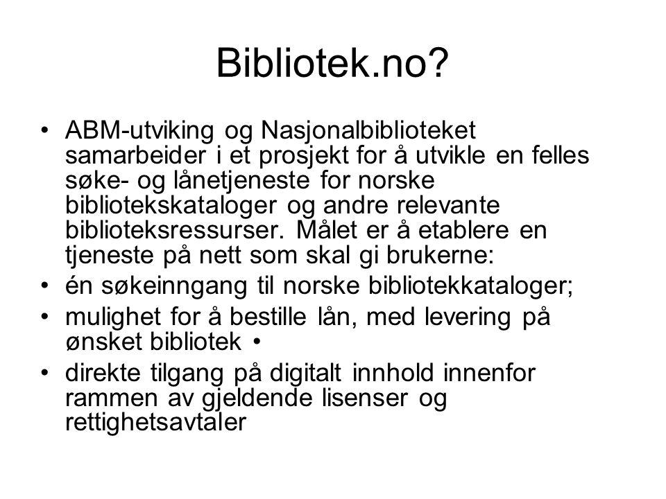 Bibliotek.no