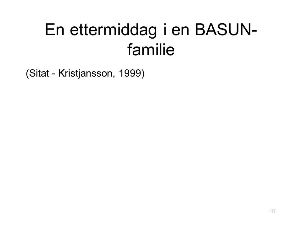 En ettermiddag i en BASUN-familie