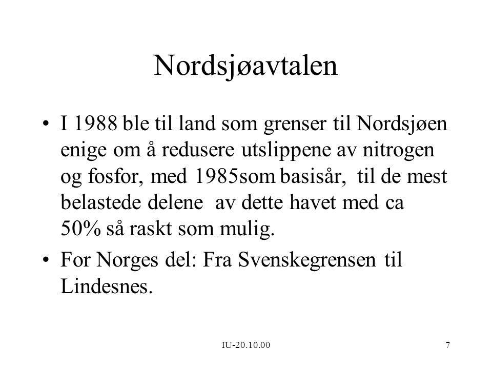 Nordsjøavtalen