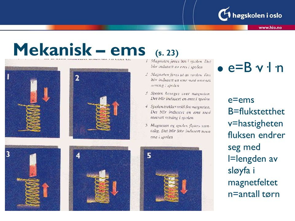 Mekanisk – ems (s.