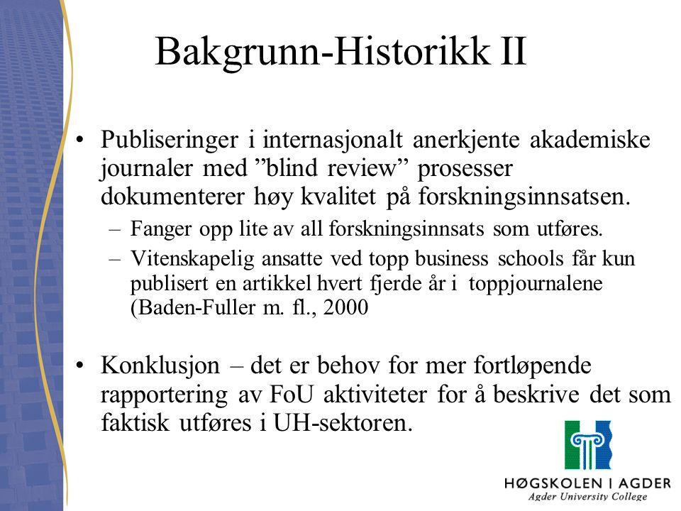 Bakgrunn-Historikk II