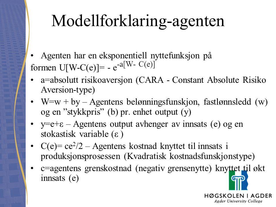 Modellforklaring-agenten