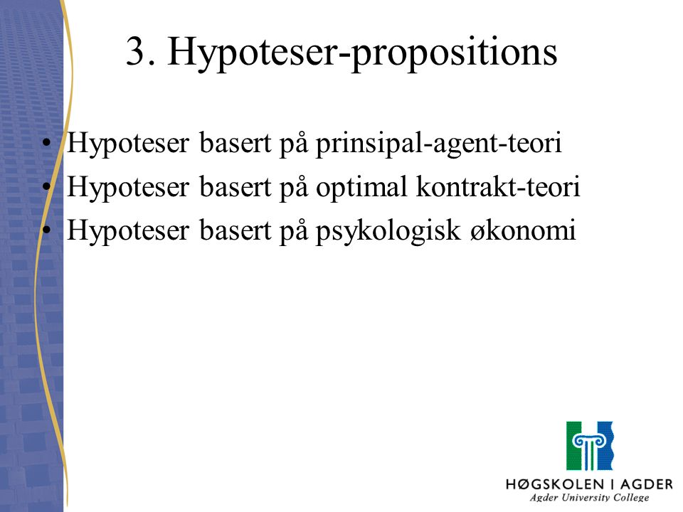 3. Hypoteser-propositions