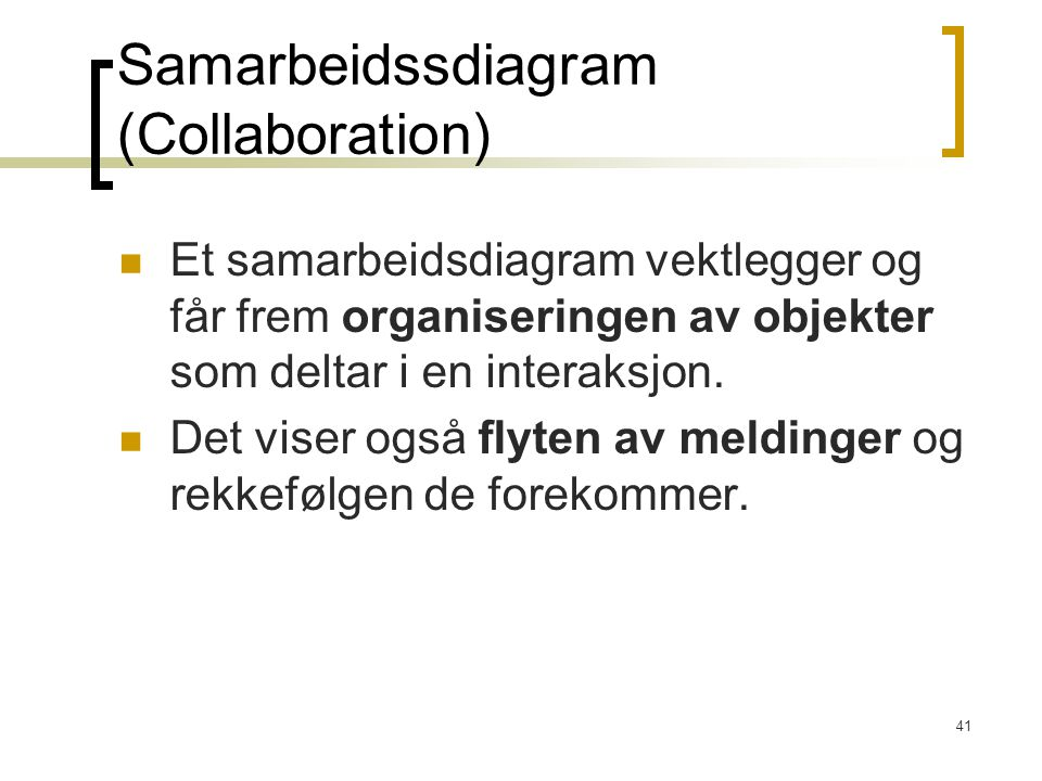 Samarbeidssdiagram (Collaboration)