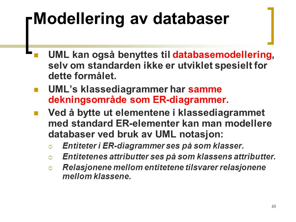 Modellering av databaser