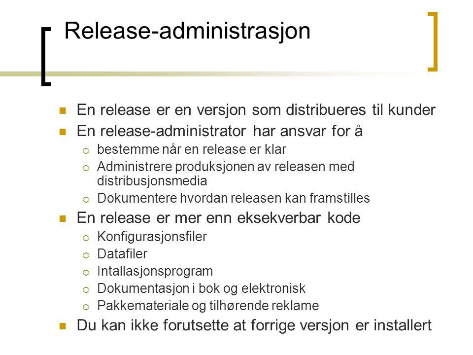 Release-administrasjon