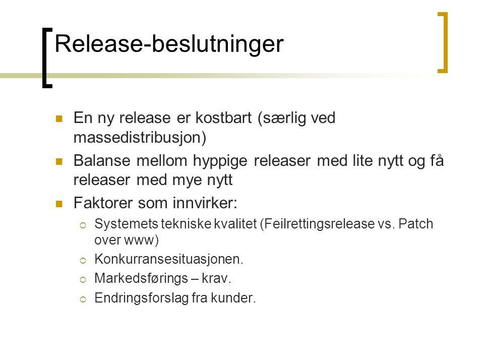 Release-beslutninger