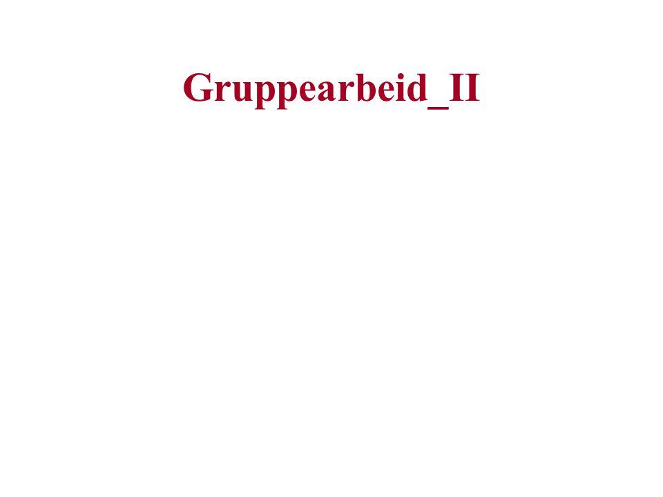 Gruppearbeid_II