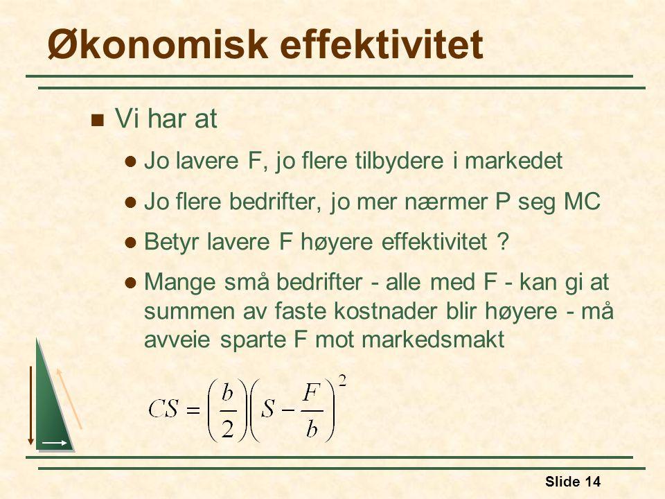 Økonomisk effektivitet
