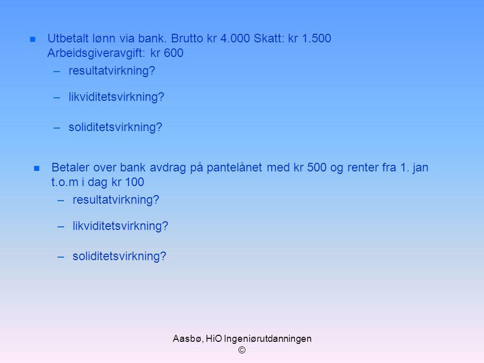 Aasbø, HiO Ingeniørutdanningen ©