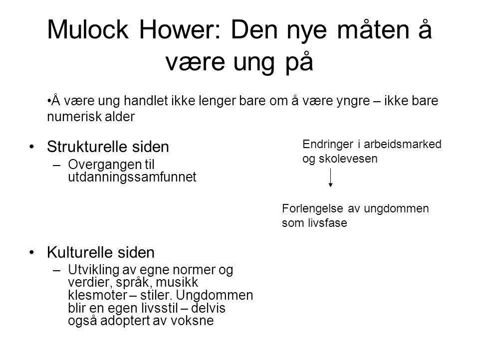 Mulock Hower: Den nye måten å være ung på