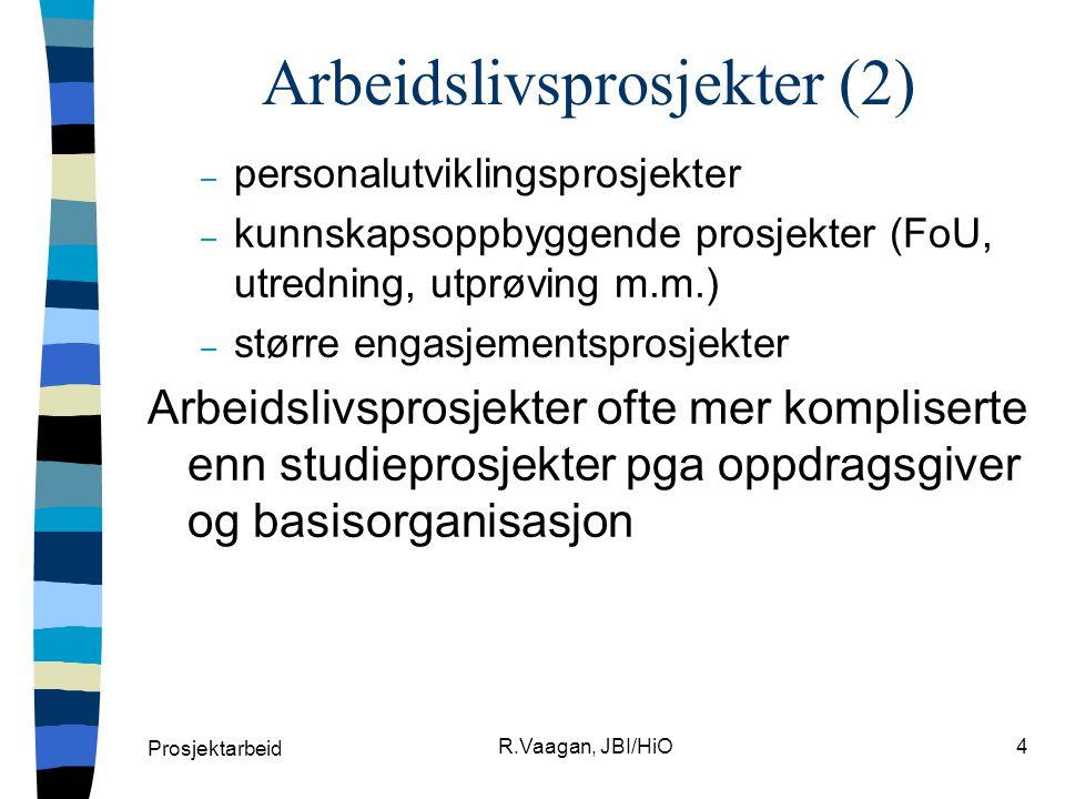 Arbeidslivsprosjekter (2)