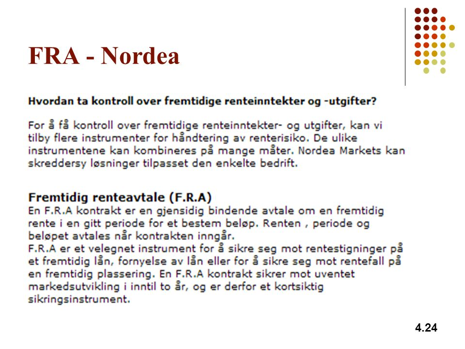 FRA - Nordea