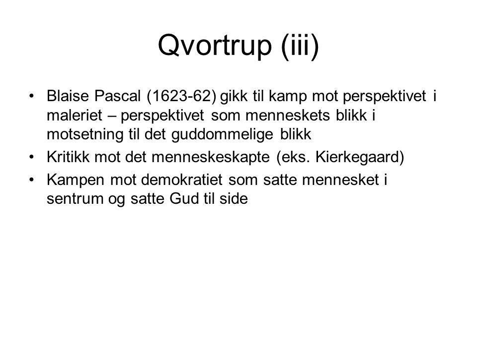 Qvortrup (iii)