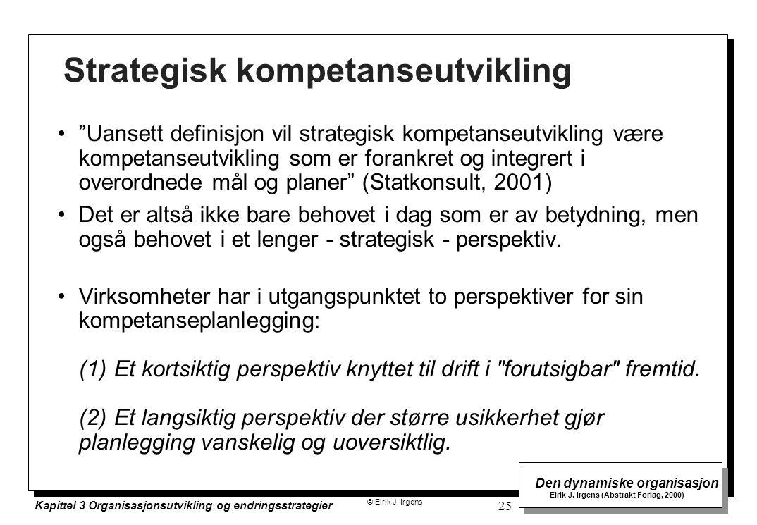 Strategisk kompetanseutvikling