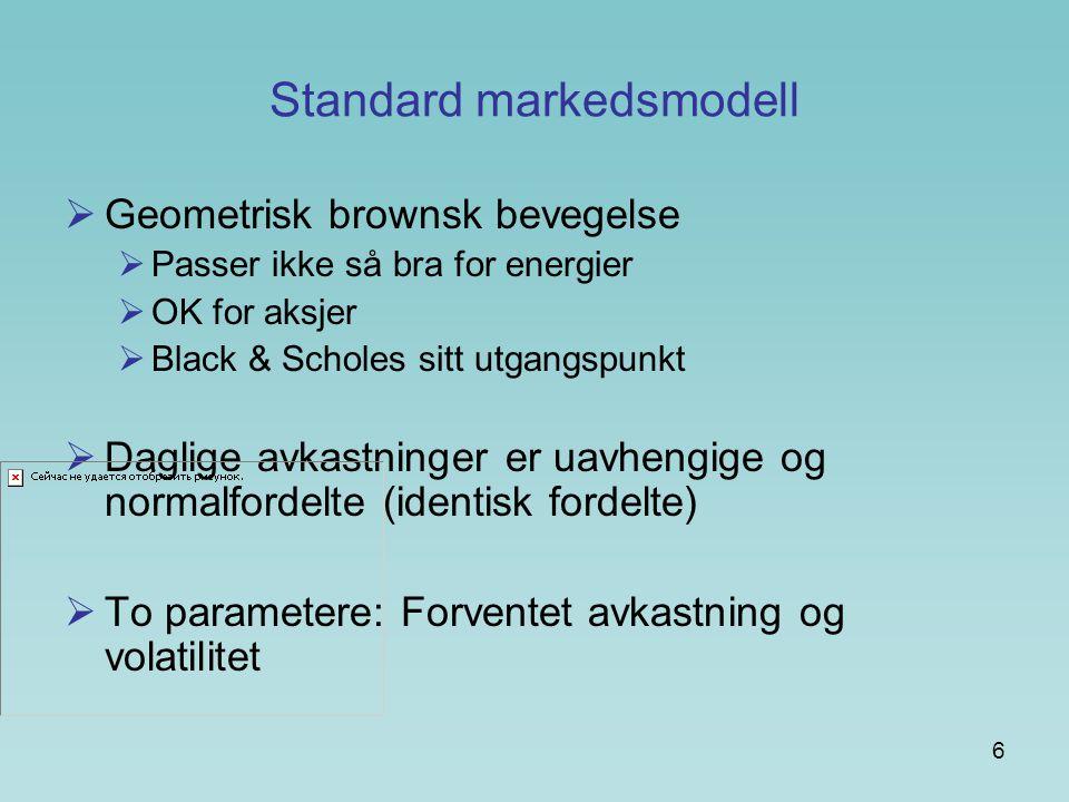 Standard markedsmodell