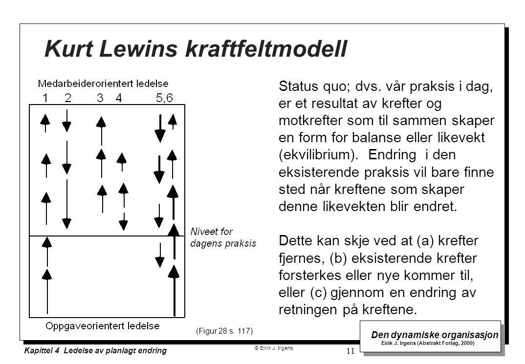 Kurt Lewins kraftfeltmodell