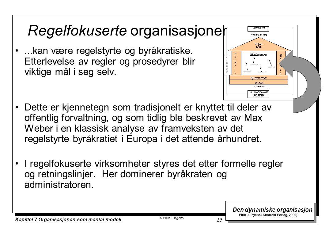 Regelfokuserte organisasjoner