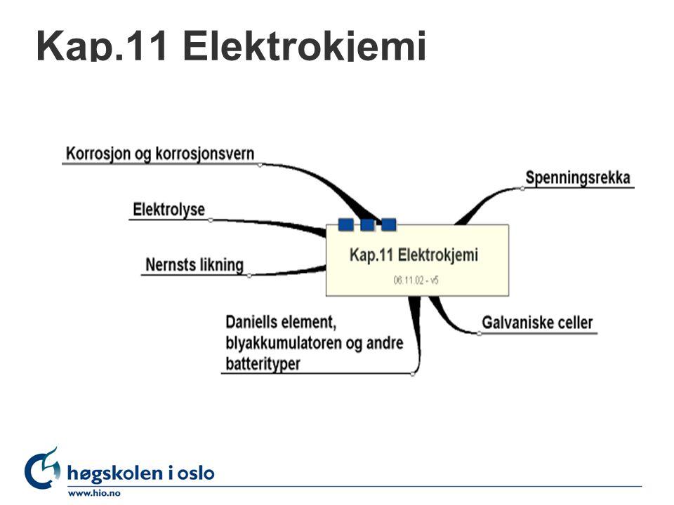 Kap.11 Elektrokjemi