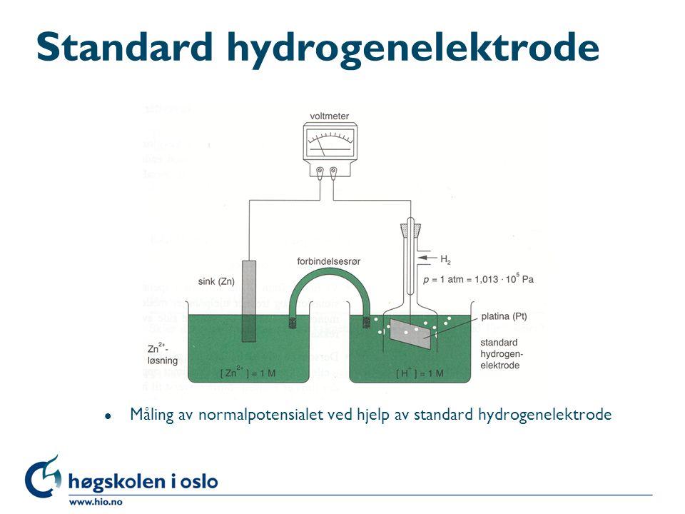 Standard hydrogenelektrode