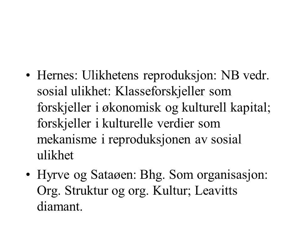Hernes: Ulikhetens reproduksjon: NB vedr