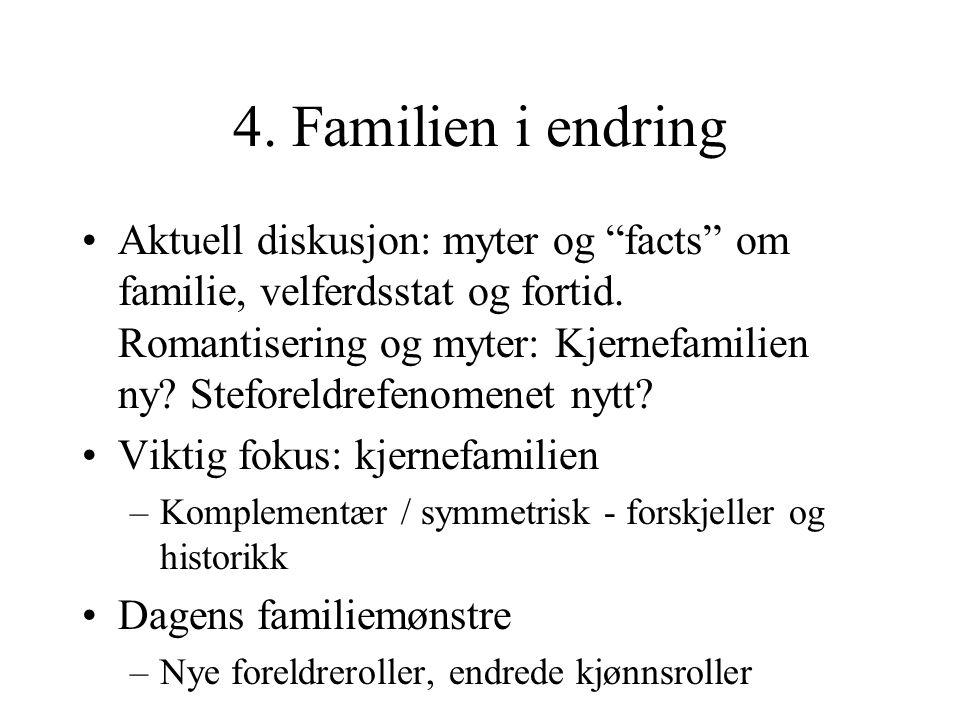 4. Familien i endring