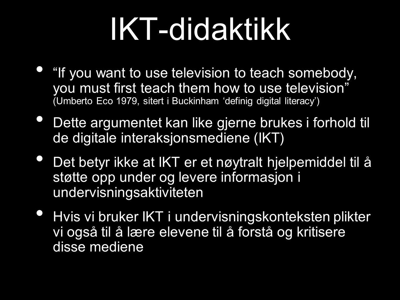 IKT-didaktikk
