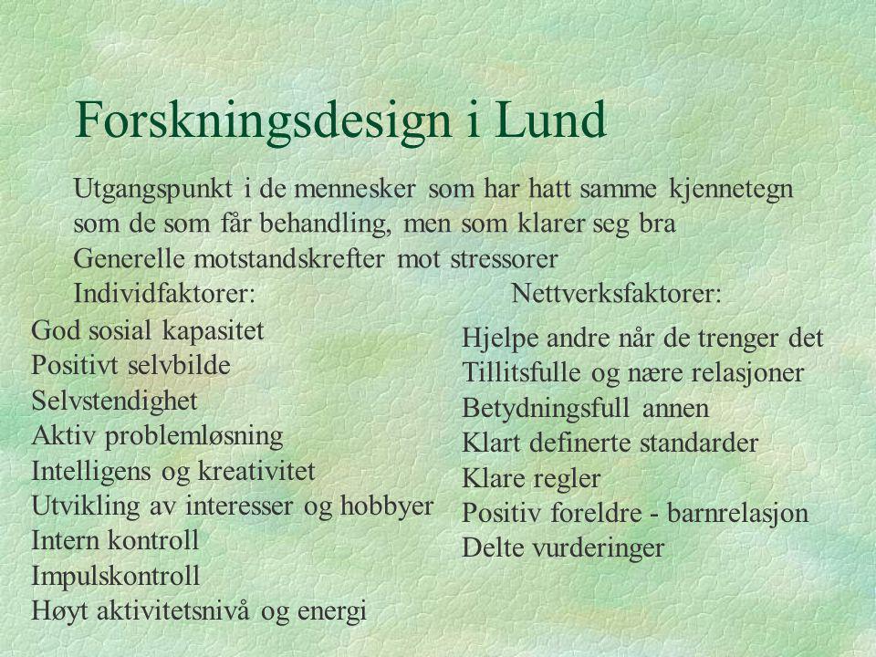 Forskningsdesign i Lund