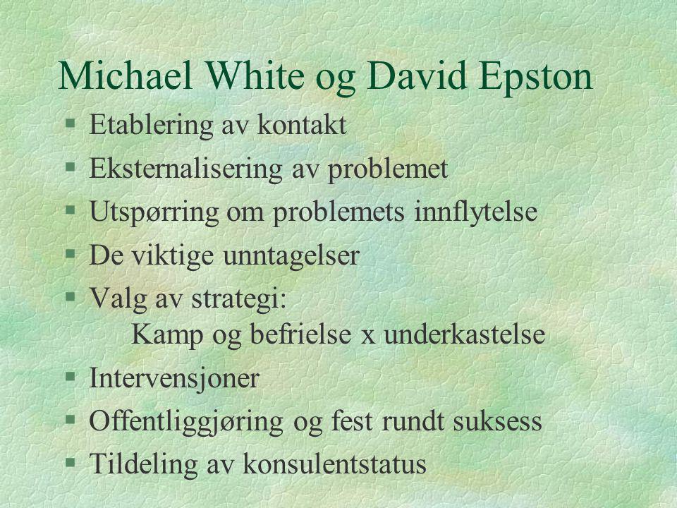 Michael White og David Epston