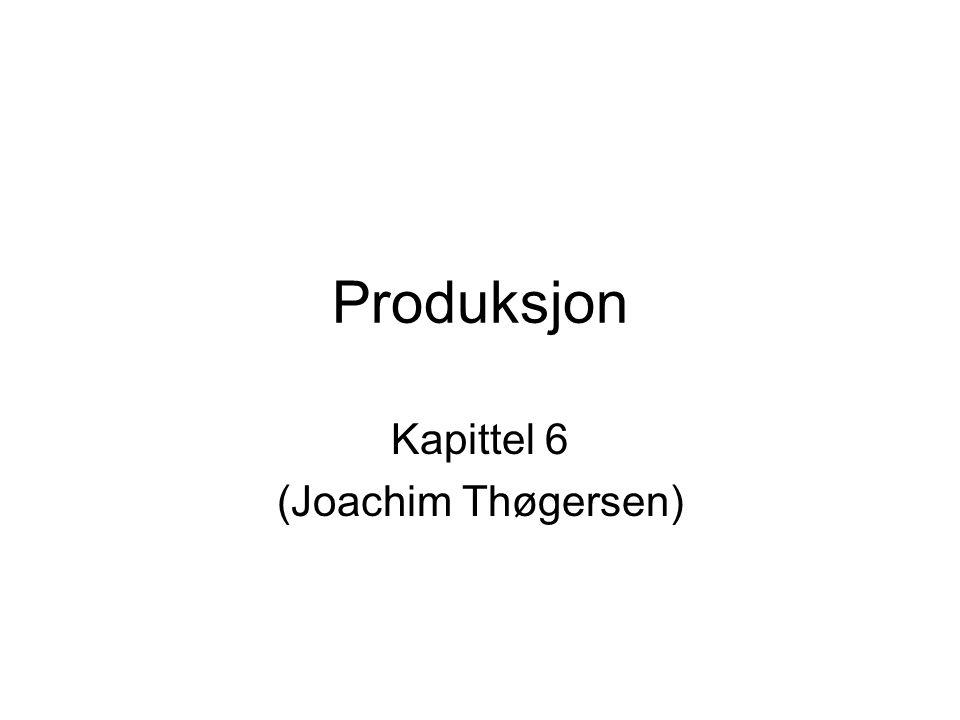 Kapittel 6 (Joachim Thøgersen)