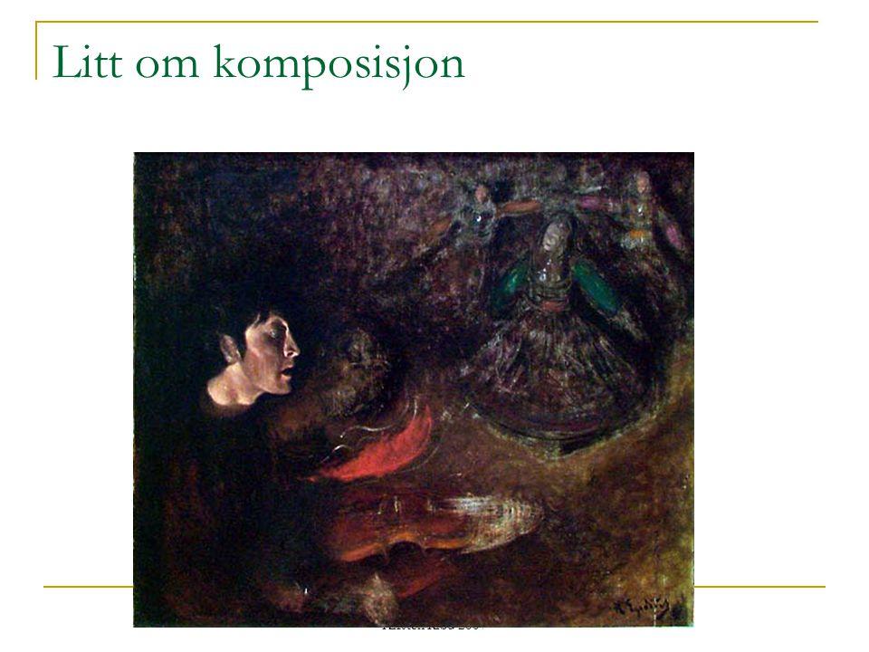 Litt om komposisjon Kirsten Ribu 2007