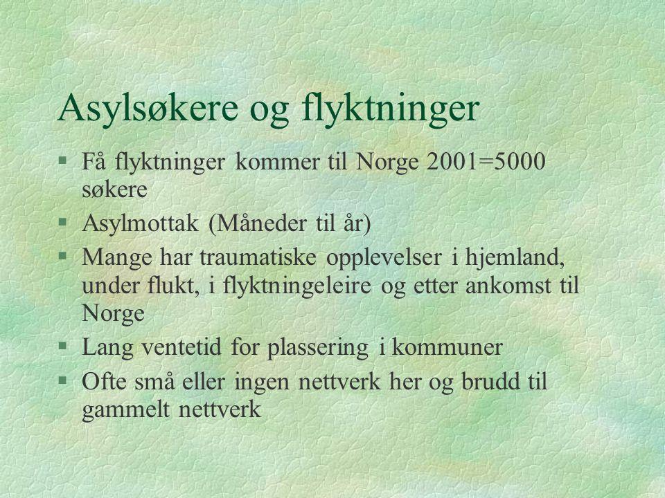 Enslige forsørgere i norge