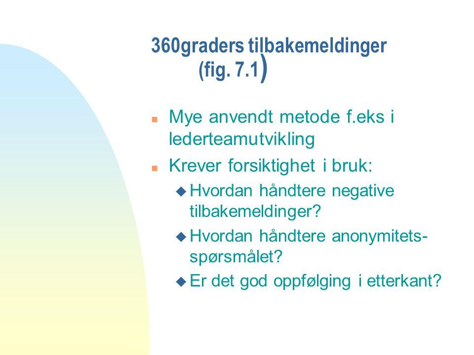 360graders tilbakemeldinger (fig. 7.1)