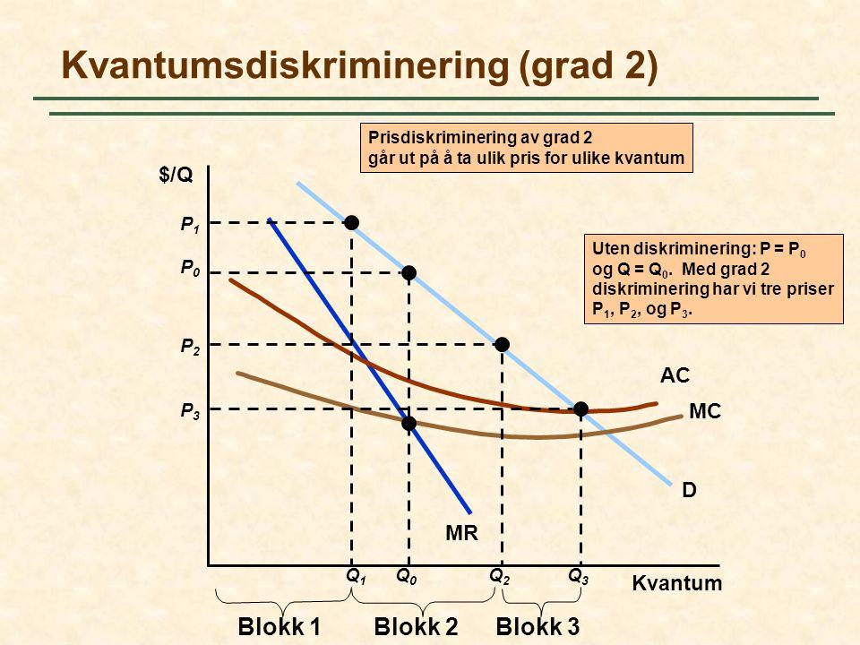 Kvantumsdiskriminering (grad 2)