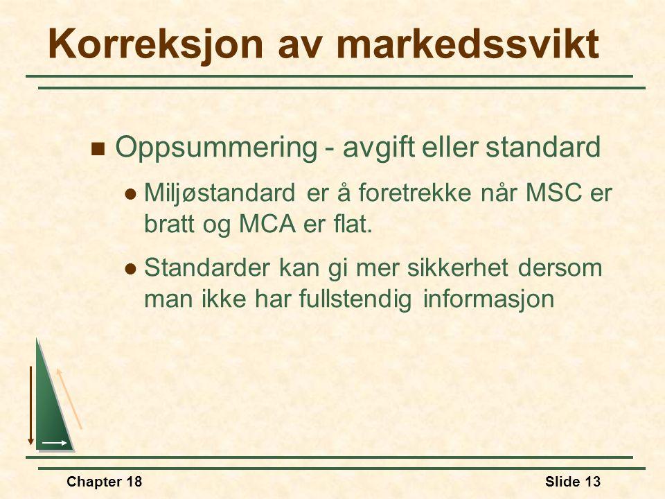 Korreksjon av markedssvikt
