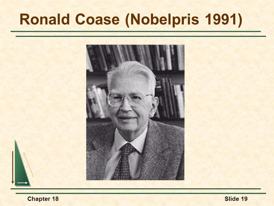 Ronald Coase (Nobelpris 1991)