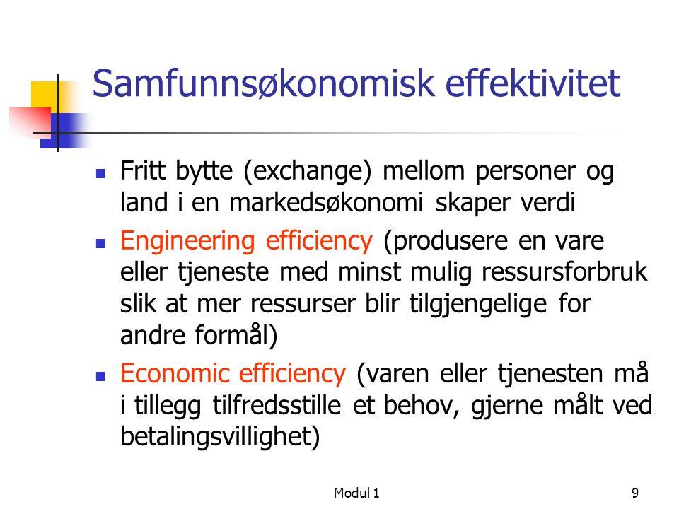 Samfunnsøkonomisk effektivitet